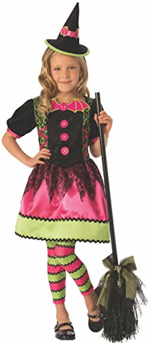 Hansel And Gretel Witch Costume (Rubie's Bright Witch Child's Costume Dress,)