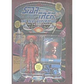 Next Generation Collectors - Star Trek The Next Generation Guinan 4 inch Action Figure