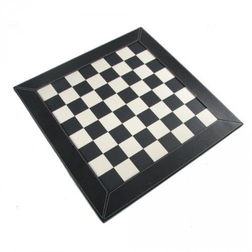 Black Leatherette Chess - 21