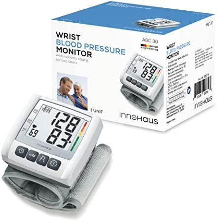 innoHaus ABC30 Wrist Blood Pressure Monitor, Fully Automatic, Accurate and Easy-to-Use