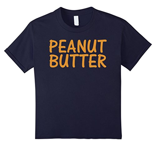 Kids Peanut Butter T-Shirt Jelly Couples Friends Halloween Shirt 10 (Top 10 Couple Halloween Costumes 2017)