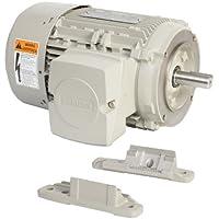 Siemens 1LE21211CA114EA3 3-HP 3600 Rpm 208 230/460-volt 182tc General Purpose Electric Motor Nema Premium Efficient Aluminum Frame, Aluminum Rotor