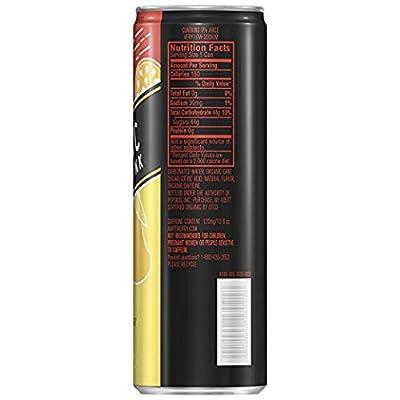 AMP Energy, Organic Energy Drink, Tropical Burst, 12 oz Cans (16 Pack)
