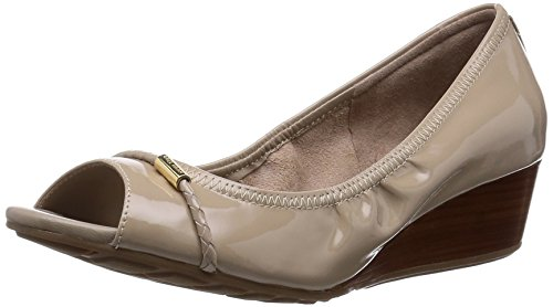Cole Haan Women's Tali OT Det 40 Wedge Pump,Maple Sugar Patent,6.5 B