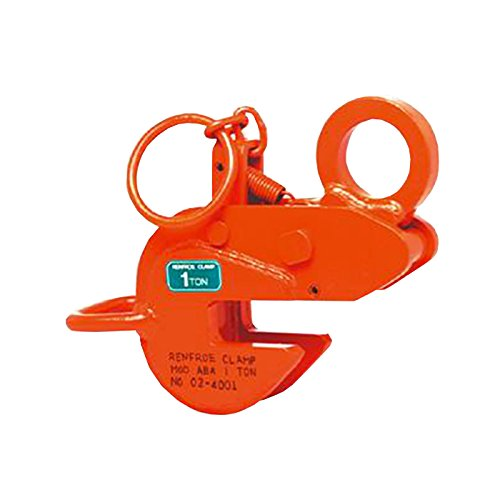 日本クランプ 横吊り専用クランプ ABAタイプ ラッチ式ロック装置付 ABA1 使用荷重 1t 使用有効寸法 3~27mm コTD B06X1BDZ3T