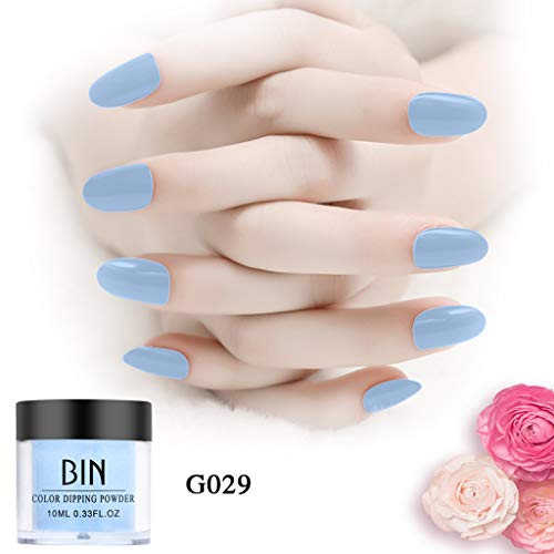 (Nails Dip Powder, Box Multicolor Dipping Powder Without Lamp Finger Art Gel Nail Color Powder Natural Dry(Glaze,Glitter,Nude,Standard) (Glaze))