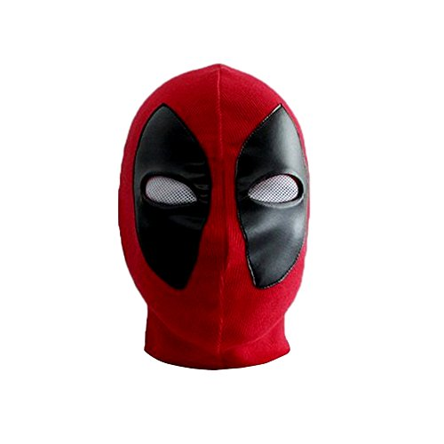 AKAKING's Funny Mask Headwear Party Cosplay Spandex Adult Mask for Deadpool (Adult Deadpool Costume)