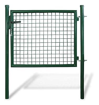 """PROGLEAM Gate, Garden Mesh Gate Fence Door Wall Grille 39"""" W x 49"""" H"""
