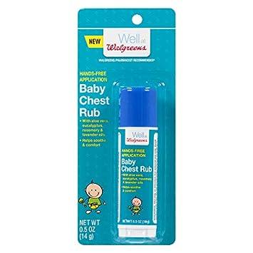 Amazon com : Walgreens Baby Chest Rub Stick : Baby