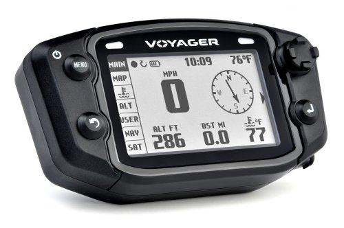 Trail Tech 912-119 Black Voyager GPS Digital Gauge Kit, 1995-2019 KTM Honda Yamaha Kawasaki - Tech Trail Atv