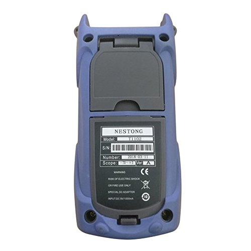 Ballylelly de alta precisión de fibra óptica medidor de potencia -70 ~ + 10dBm SC/FC/ST conector de fibra óptica probador de cable para la herramienta de ...