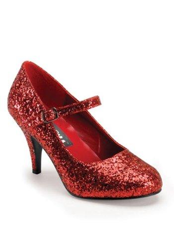 Funtasma by Pleaser Women's Glinda-50G Mary Jane Pump B005MF59DQ 10 B(M) US|Red