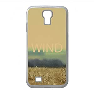 Field Wind Watercolor style Cover Samsung Galaxy S4 I9500 Case (Landscape Watercolor style Cover Samsung Galaxy S4 I9500 Case)