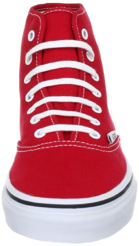 Vans Authentic Hi - Zapatillas Unisex adulto Rojo