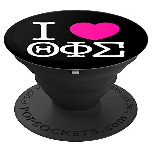 Theta Phi Sigma Sorority, Inc. PopSockets Grip and Stand for Phones and Tablets ()