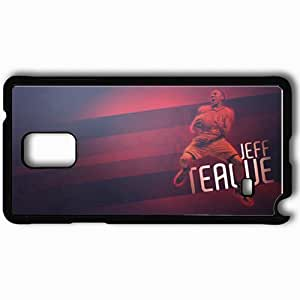 Personalized Samsung Note 4 Cell phone Case/Cover Skin 14861 hawks wp 23 sm Black
