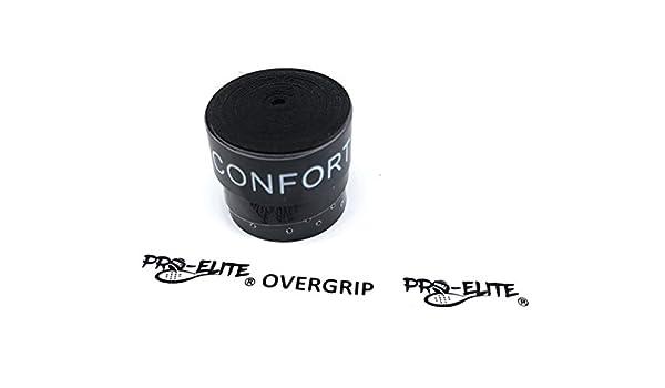 overgrip Pro Elite Confort Perforado Negro: Amazon.es ...