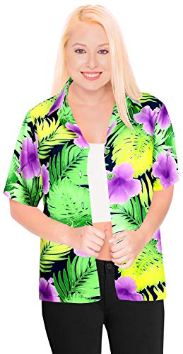 Hawaiian Shirt Beach Blouses Top Women Tank Casual Aloha Holiday Daily wear