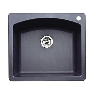 Blanco 440210 Diamond Single Basin Drop In Or Undermount
