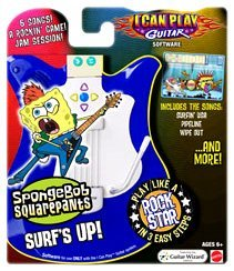 I Can Play Guitar Sw Spongebob'S Surf'S Up -
