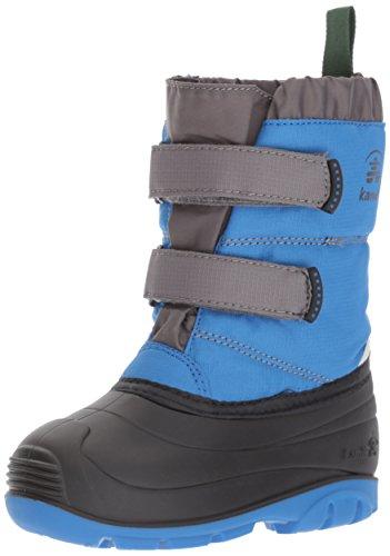 Kamik Boys' Pumpkin Snow Boot, Strong Blue, 6 Medium US (Angels Winter Boots)