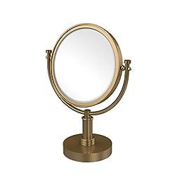 Allld|#Allied Brass DM-4G/2X-BBR 8 Inch Vanity Top Make-Up Mirror 2x Magnification,