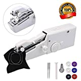 Portable Sewing Machine,Mini Sewing Machine, MSDADA Handheld Sewing Machine for Home Travel Stitching, Best Birthday DIY Gift for Kids & Adult