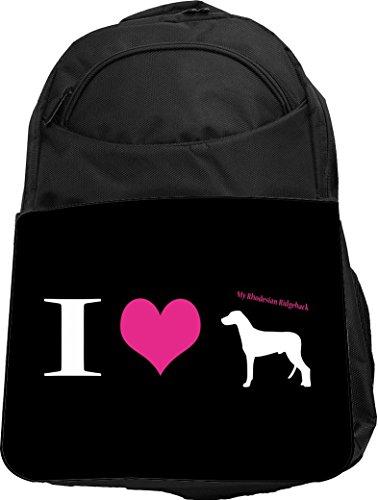Rikki Knight UKBK I Love My Rhodesian Ridgeback Dog Tech ...