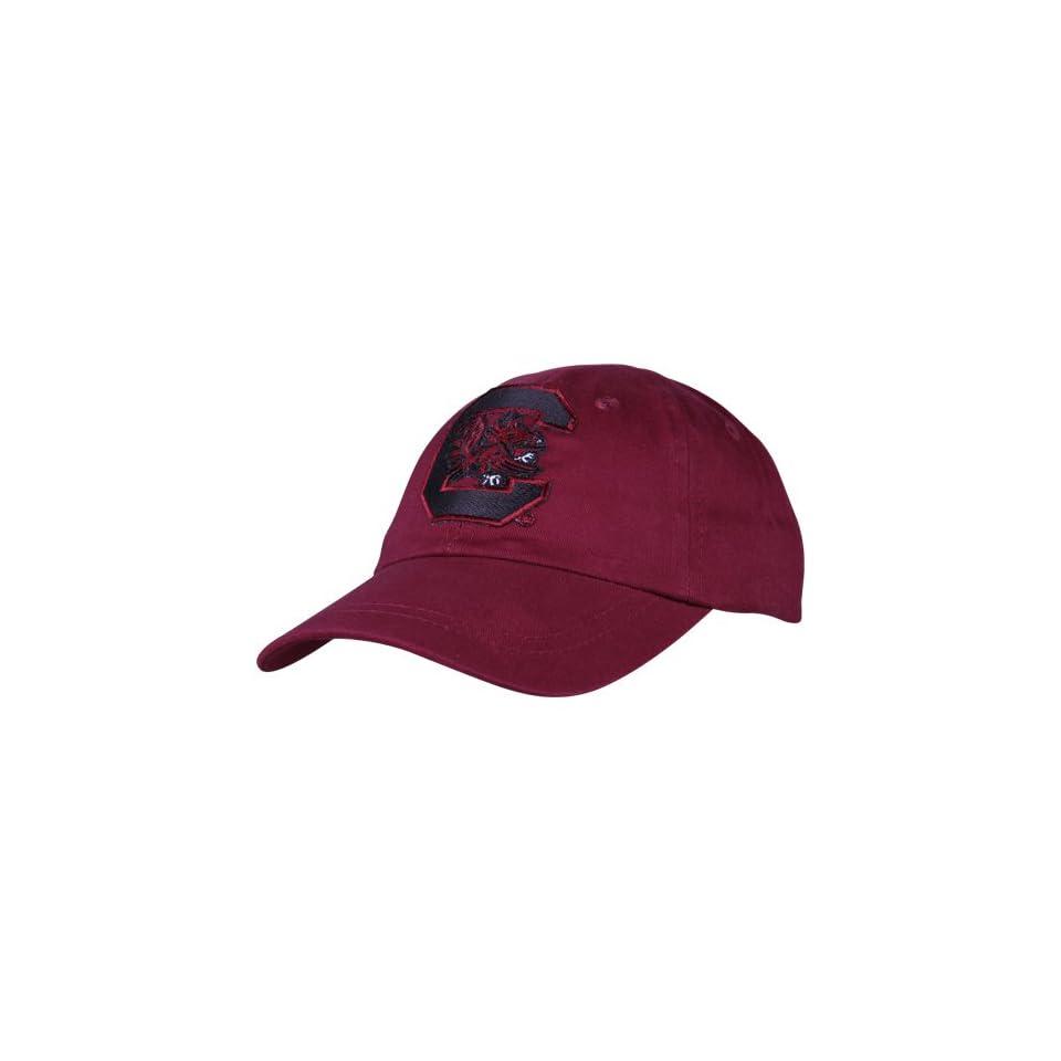 NCAA South Carolina Gamecocks Toddler Garnet Big Logo Adjustable Hat