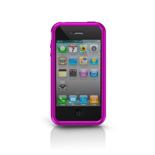 Grip Iphone Sport Marware For (Marware Sport Grip Edge Case for iPhone 4 - Pink - Fits AT&T iPhone)