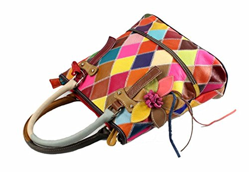 Eysee Borsa multicolore 1 Multicolore Mode donna mano a zpw8APqzr