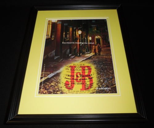 1984 J&B Scotch 11x14 Framed ORIGINAL Vintage Advertisement (Jb Original Vintage)