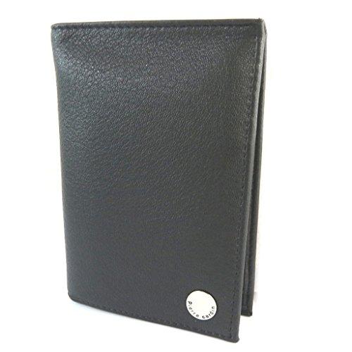 European wallet leather 'Pierre Cardin'black - 13x9.5x1.8 cm...