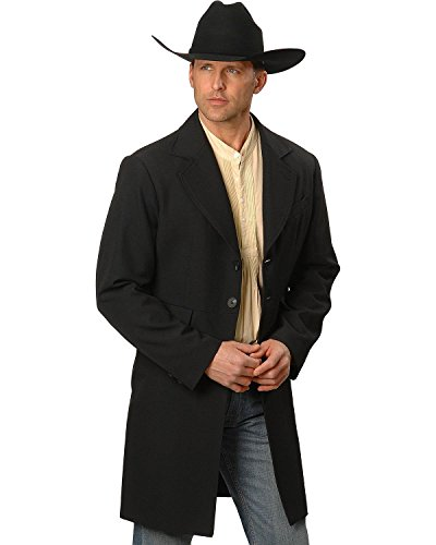 Wahmaker By Scully Men's Frock Coat Black 46 by Scully (Image #2)