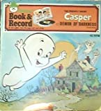 The Friendly Ghost Casper and the Demon of Darkness Book and Record