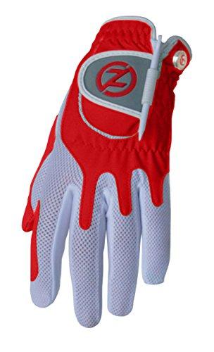 Here Golf Shirt (Zero Friction Women's Golf Gloves, Left Hand, One Size Golf, Red)