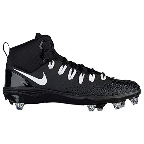Nike Force Savage Pro D Football Cleats Shoes Mens Size 11.5 (Black, White) (Football Cleats Nike)