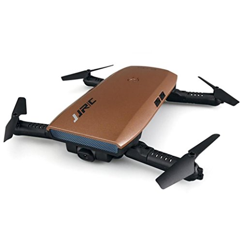 RC Quadcopter,JJRC H47 Elfie Foldable Selfie Mini Drone FPV Quadcopter & Two Extra Battery By Dacawin (Gold) by Dacawin