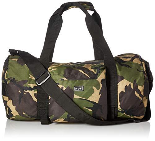 Price comparison product image HUF Men's Tompkins Duffle Bag,  deep olive,  O / S