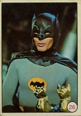 1966 Topps Batman Bat Laffs (Non-Sports) card#26 Batman of the Grade Excellent to Excellent Mint from Topps