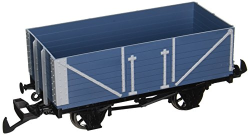 Bachmann Industries Thomas & Friends - Open Wagon - Blue - Large G Scale Rolling Stock Train