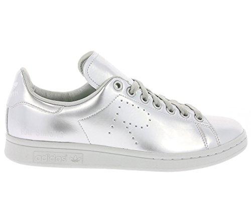 adidas by Raf Simons Unisex RAF Simons Stan Smith Silver Met/Silver Met/Silver Met 12.5 M UK