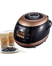 Commercial Fully Automatic Pearl Pot Pearl Tapioca Cooker Pearl Maker 5L Boba Tea Bubble Tea Milk Tea Touchscreen 900W Non-Stick Anti-Scalding Insulation Design