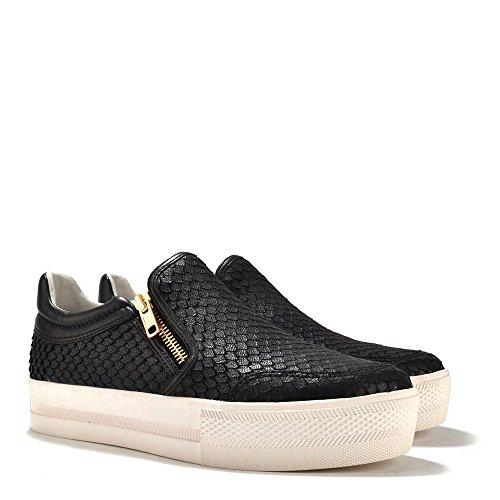 Chaussures De Cendre De Baskets Jordy En Cuir, Les Femmes Noires