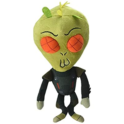 Funko Galactic Plushies: Rick and Morty Krombobpulous Michael Collectible Figure, Multicolor: Toys & Games