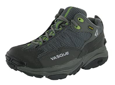 vasque womens 39 velocity gtx st 39 hiking shoe gunmetal herbal green us 7 running. Black Bedroom Furniture Sets. Home Design Ideas