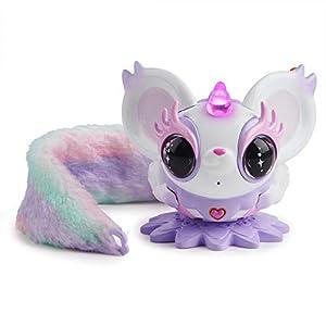 Pixie Belles – Interactive Enchanted Animal Toy, Esme (White)