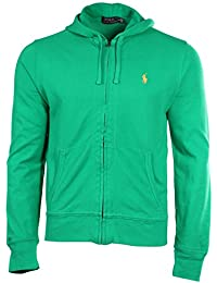 Polo Ralph Lauren Men\u0026#39;s Mesh Full Zip Pony Hoodie