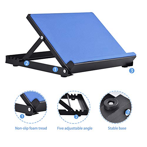Giraffe-X Slant Board - Calf Stretcher Incline Stretching Board Ankle Therapy Stretch Wedge Achilles, Plantar Fasciitis, Calves Muscle Exercise, Workout Trainer, 16