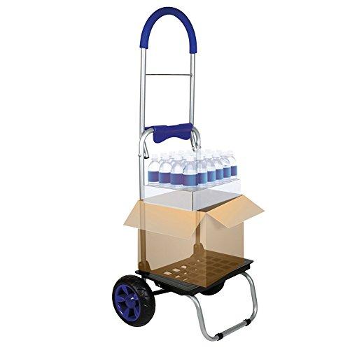Mighty Max Personal Dolly, Blue Handtruck Hardware Garden Utilty Cart
